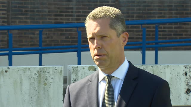 kent police assistant chief constable tom richards urging a man shown in a photograph to come forward in relation to the murder of pcso julia james - justice concept stock videos & royalty-free footage