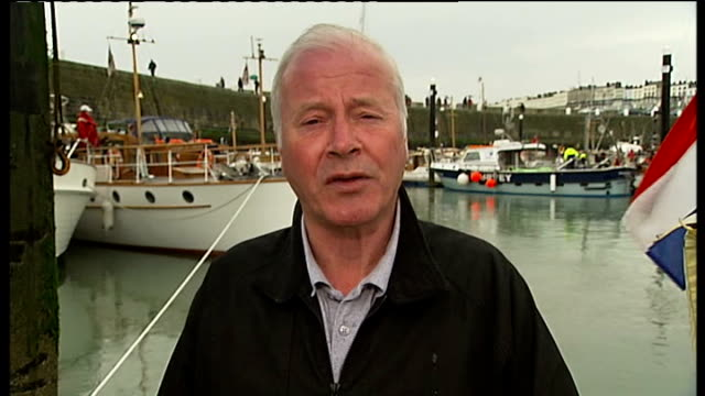 kent ramsgate ext reporter to camera - ramsgate stock videos & royalty-free footage