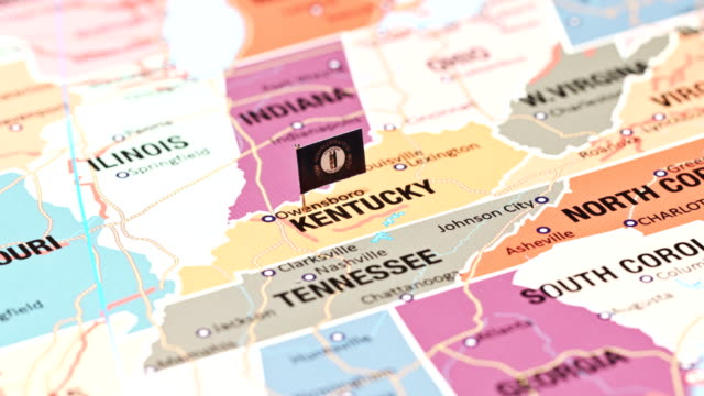 kentucky from usa states - kentucky stock videos & royalty-free footage