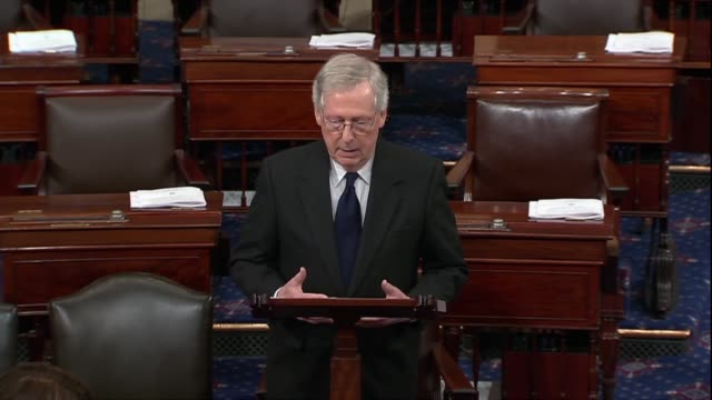 kentucky senator mitch mcconnell says days after george hw bush passed away that he was not the first to observe that he seemed like the greatest... - humility stock videos and b-roll footage
