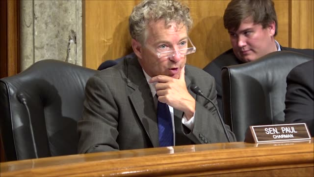 Kentucky Senator Rand Paul says at a Senate Homeland Security and Government Affairs subcommittee hearing on mobile device searches at borders that...