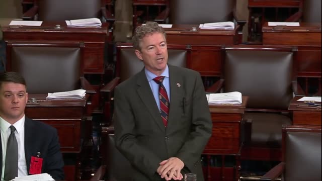 Kentucky Senator Rand Paul says in debate on his resolution to disapprove of an arms sale to Bahrain that one could be excused for knowing the US was...