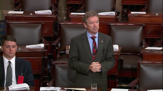 Kentucky Senator Rand Paul says in debate on his resolution to disapprove of an arms sale to Bahrain that there had been some debate and the earlier...