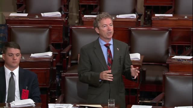 Kentucky Senator Rand Paul says in debate on his resolution to disapprove of an arms sale to Bahrain that the Constitution says Congress shall...