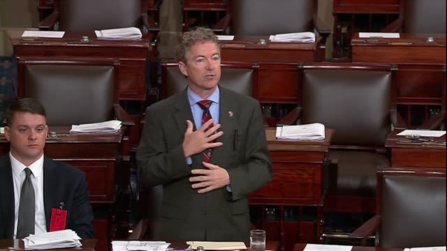 Kentucky Senator Rand Paul says in debate on his resolution to disapprove of an arms sale to Bahrain that things were beginning to change with a...