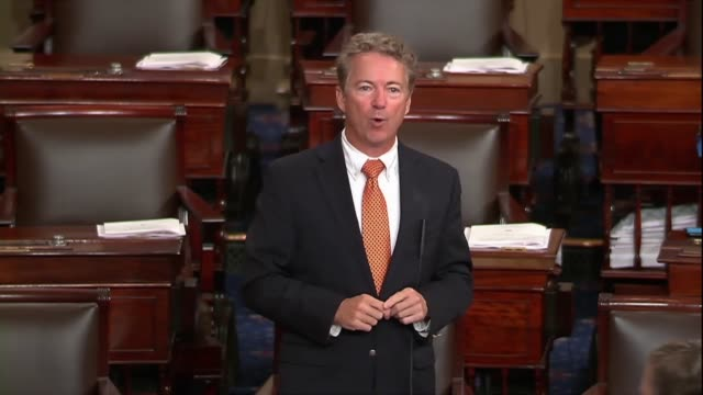 Kentucky Senator Rand Paul says in objecting to a resolution rebuffing a stance of Donald Trump in Helsinki in meeting with Russian President...