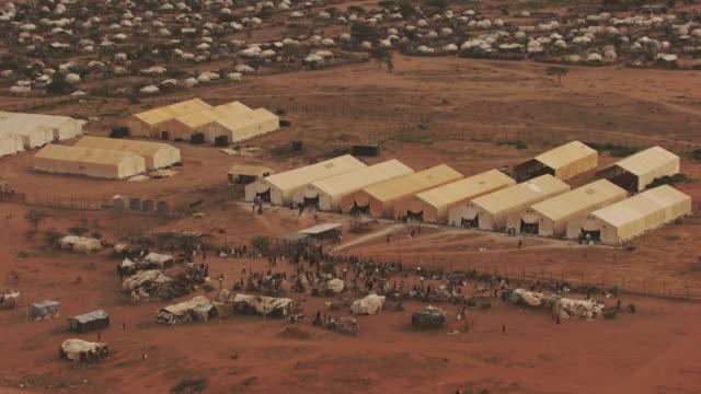 Kenya, Dabaab: Ifo supply barns and Ifo camps