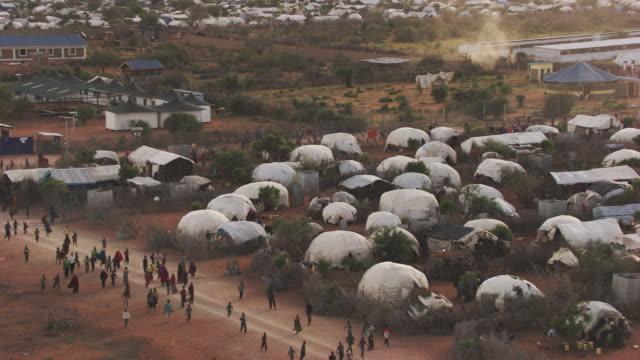 Kenya Dadaab : People who run in Kambioos Camp