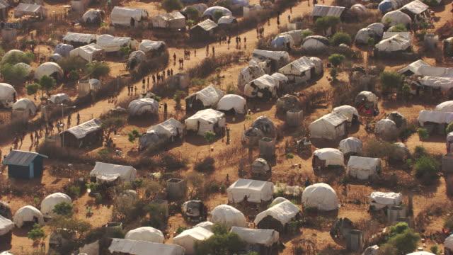 Kenya Dadaab : Wide plan of Hagadera Camp