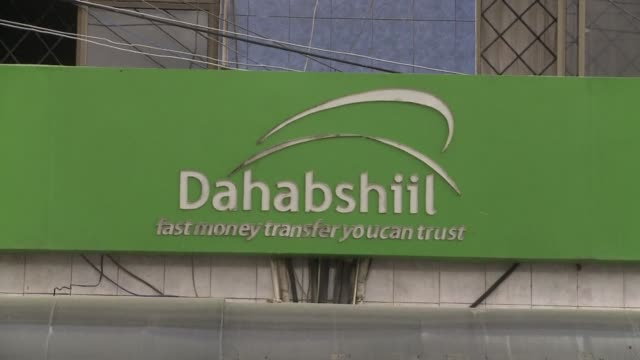kenya froze key money transfer companies vital for somalia wednesday after the police chief issued a list of 85 people and businesses with suspected... - corno d'africa video stock e b–roll
