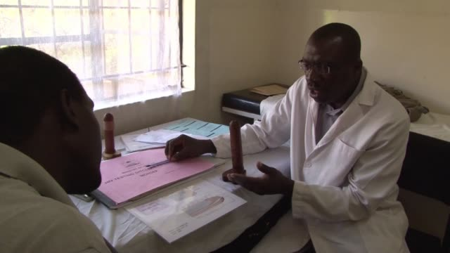 kenya has managed to bring down high rates of hiv infection thanks to a campaign to promote male circumcision kisumu kenya - short phrase stock videos and b-roll footage