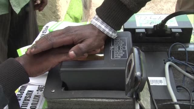 Kenya launches a voter registration drive for elections in August 2017 in a bid to push numbers to a record 25 million voters