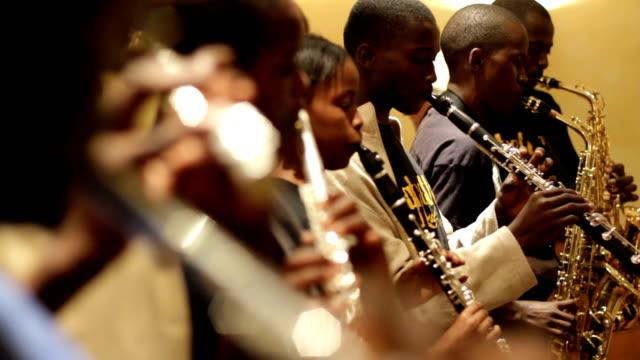 Kenya, Nairobi, Korogocho slum, Ghetto Classic music band