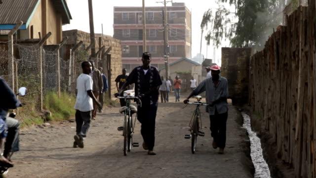 kenya, nairobi, korogocho slum - nairobi stock videos and b-roll footage