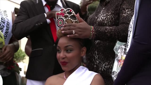 a kenyan court sentences a 24 year old beauty queen to death for murdering her boyfriend by stabbing him 25 times drawing criticism from rights... - beauty queen stock videos and b-roll footage