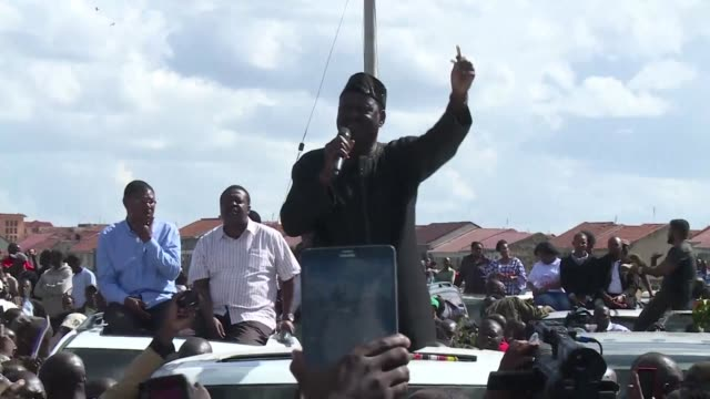 Kenyan opposition leader Raila Odinga rejects the inauguration of President Uhuru Kenyatta vowing to hold his own swearing in as president in two...