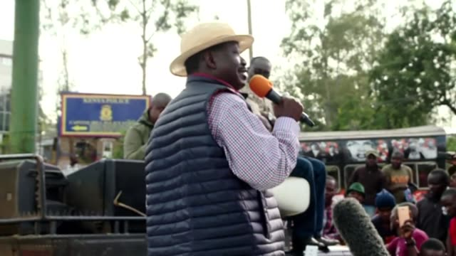 Kenyan opposition leader Raila Odinga says he is deeply grateful for his followers support as he returns to the country after a 10 day trip to the...