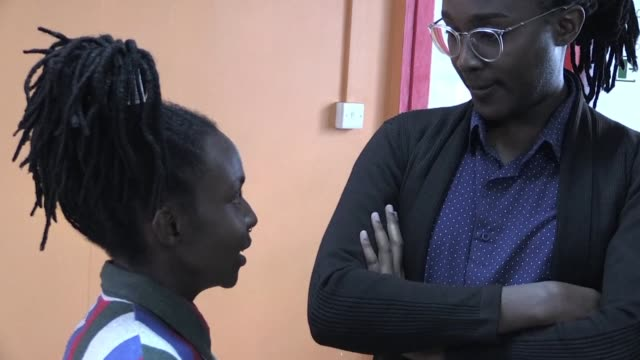 kenya's high court is expected to deliver a long awaited ruling on whether to scrap colonial era laws which criminalise homosexuality a verdict that... - anticipation video stock e b–roll