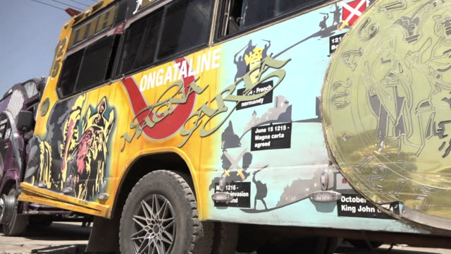 Kenya's public transport buses became the country's contribution to world culture by its designs and trends