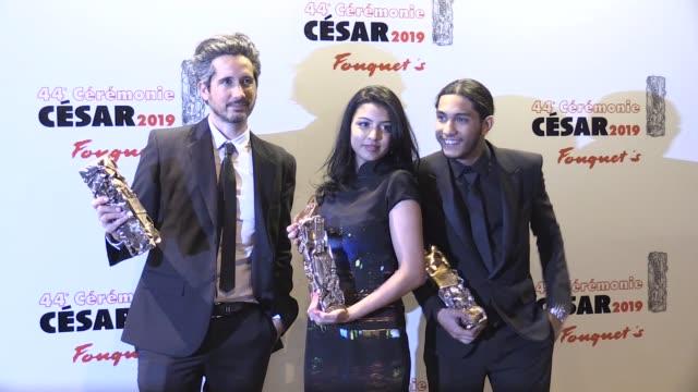 Kenza Fortas Idir Azougli Sofian Bentoumi Dylan Robert at Cesar Film Awards 2019 At Le Fouquet s In Paris Paris France 22nd February 2019