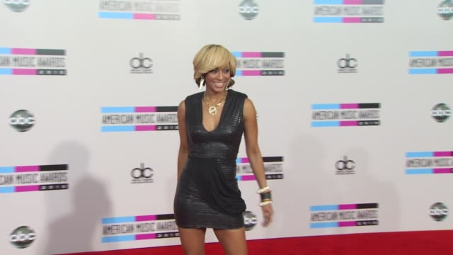 keri hilson at the 2010 american music awards arrivals at los angeles ca - american music awards stock videos and b-roll footage