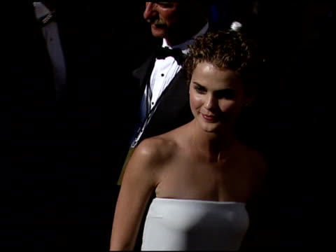Keri Russell at the 1999 Emmy Awards at the Shrine Auditorium in Los Angeles California on September 12 1999