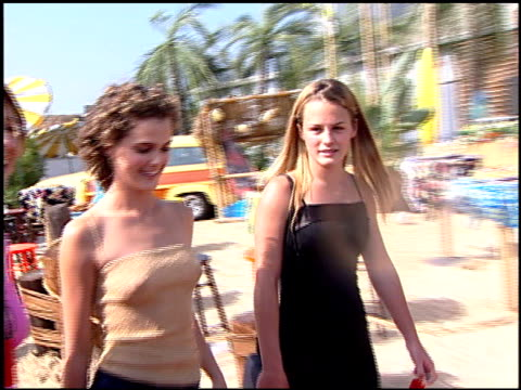 Keri Russell at the 2000 Teen Choice Awards at Barker Hanger in Santa Monica California on August 5 2000