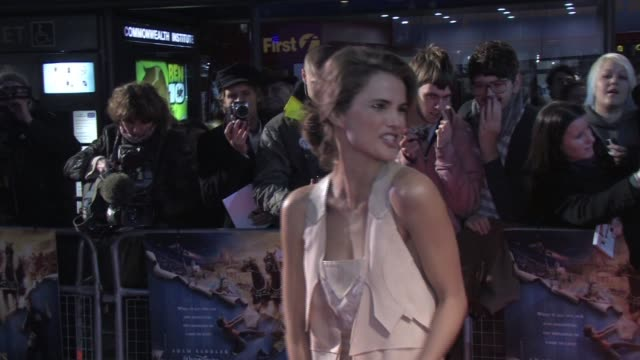Keri Russell at the Bedtime Stories premiere at London