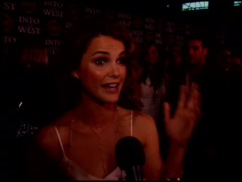 Keri Russell at the 'Into the West' Premiere at DGA Theater in Los Angeles California on June 8 2005