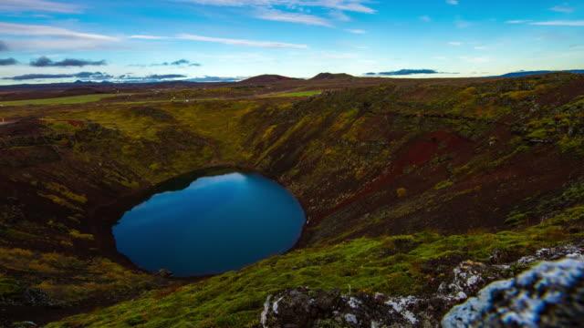 T/L Kerid vulkanischen Krater-See