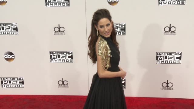 kerri kasem at 2016 american music awards at microsoft theater on november 20 2016 in los angeles california - american music awards stock videos and b-roll footage