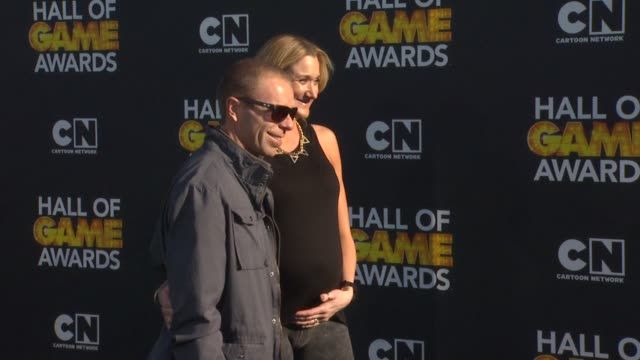 kerri walsh at cartoon network hosts third annual hall of game awards on 2/9/13 in los angeles ca - kerri walsh jennings stock videos and b-roll footage