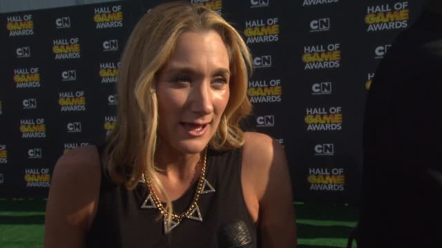 interview kerri walsh jennings on her pregnancy on the fans on what she loves about this award show and on what she's looking forward to tonight at... - kerri walsh jennings stock videos and b-roll footage