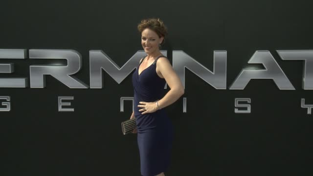 Kerry Cahill at the Premiere Of Paramount Pictures' Terminator Genisys at Dolby Theatre on June 28 2015 in Hollywood California