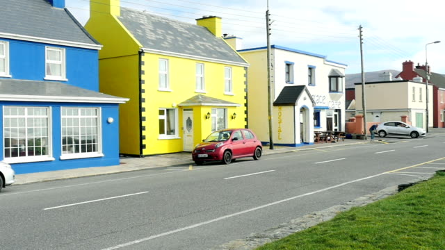 Kerry village Houses Ireland