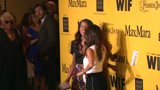 stockvideo's en b-roll-footage met kerry washington and eva longoria at the 2014 women in film crystal lucy awards presented by max mara bmw perrierjouet and south coast plaza at the... - century plaza