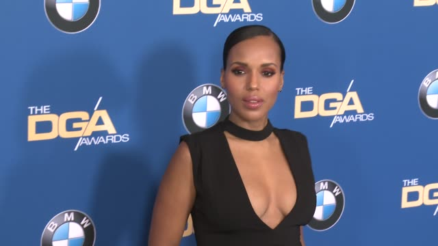 kerry washington at 69th annual directors guild of america awards in los angeles ca - directors guild of america awards stock videos & royalty-free footage