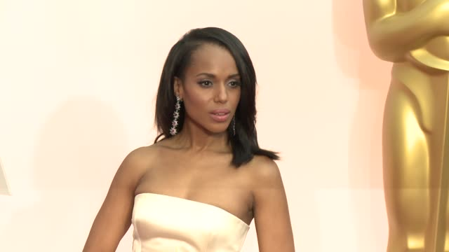 Kerry Washington at 87th Annual Academy Awards Arrivals at Dolby Theatre on February 22 2015 in Hollywood California