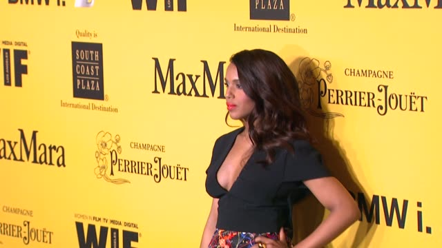 stockvideo's en b-roll-footage met kerry washington at the 2014 women in film crystal lucy awards presented by max mara bmw perrierjouet and south coast plaza at the hyatt regency... - century plaza