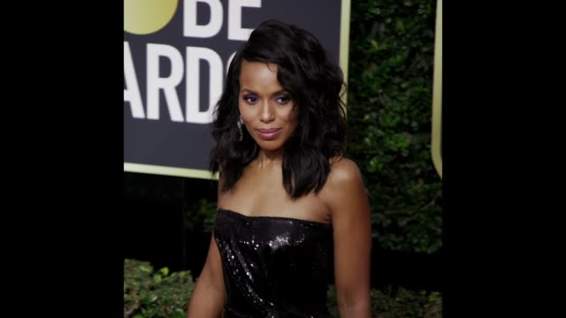 Kerry Washington at the 75th Annual Golden Globe Awards on January 07 2018 in Beverly Hills California