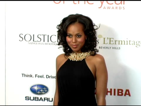 vidéos et rushes de kerry washington at the hollywood life magazine's breakthrough of the year awards at the henry fonda theatre in hollywood, california on december 4,... - henry fonda theatre