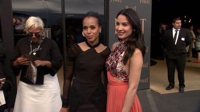 Kerry Washington Olivia Munn at Piaget At The 2015 Film Independent Spirit Awards in Los Angeles CA