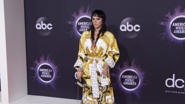 kesha at the 2019 american music awards at microsoft theater on november 24 2019 in los angeles california - american music awards stock videos & royalty-free footage