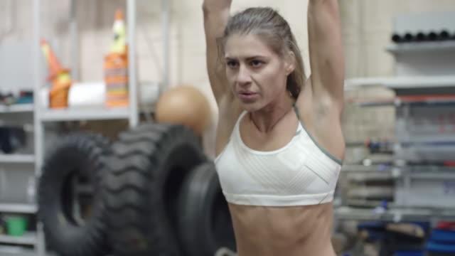 Kettlebell strength exercise