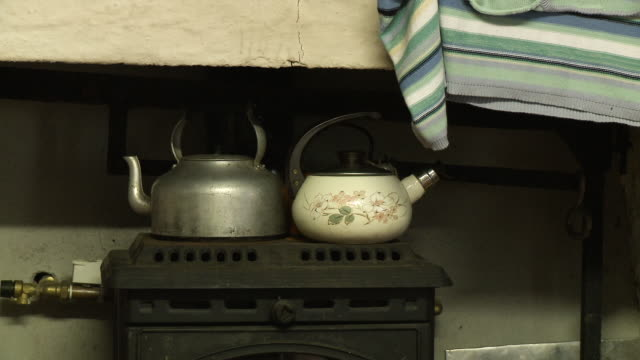 kettles on a furnace - boiler stock videos & royalty-free footage