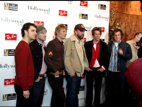 Kevin Bacon and 'Cake' at the Kevin Bacon Reception of the 2005 RayBan Visionary Award Hosted by Creative Coalition and Hollywood Life at Stein...
