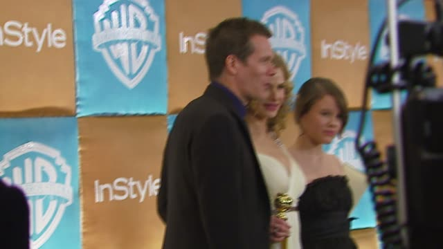 Kevin Bacon and Kyra Sedgwick at the In Style Magazine and Warner Brothers Annual Golden Globes Party at the Beverly Hilton in Beverly Hills...