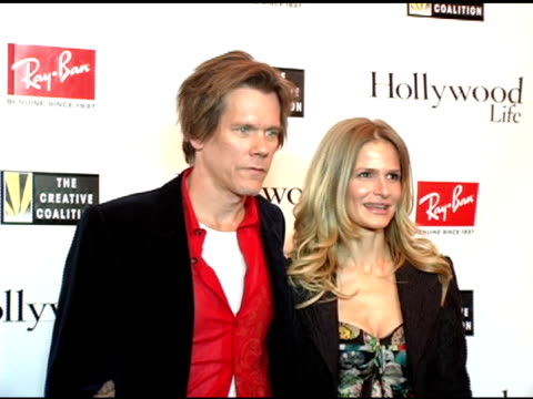 kevin bacon and kyra sedgwick at the kevin bacon reception of the 2005 rayban visionary award hosted by creative coalition and hollywood life at... - beer stein stock videos and b-roll footage