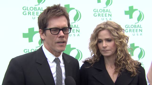 Kevin Bacon and Kyra Sedgwick on what they appreciate most about Global Green why they wanted to the a part of the event what first made them care...
