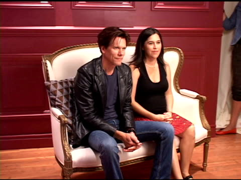 Kevin Bacon and Nicole Kasel at the 2004 Toronto International Film Festival 'The Woodsman' Portraits at Intercontinental in Toronto Ontario on...
